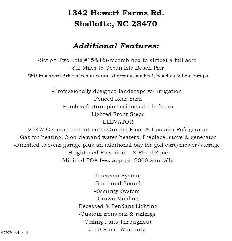 1342 E Hewett Farms Road Shallotte, NC 28470