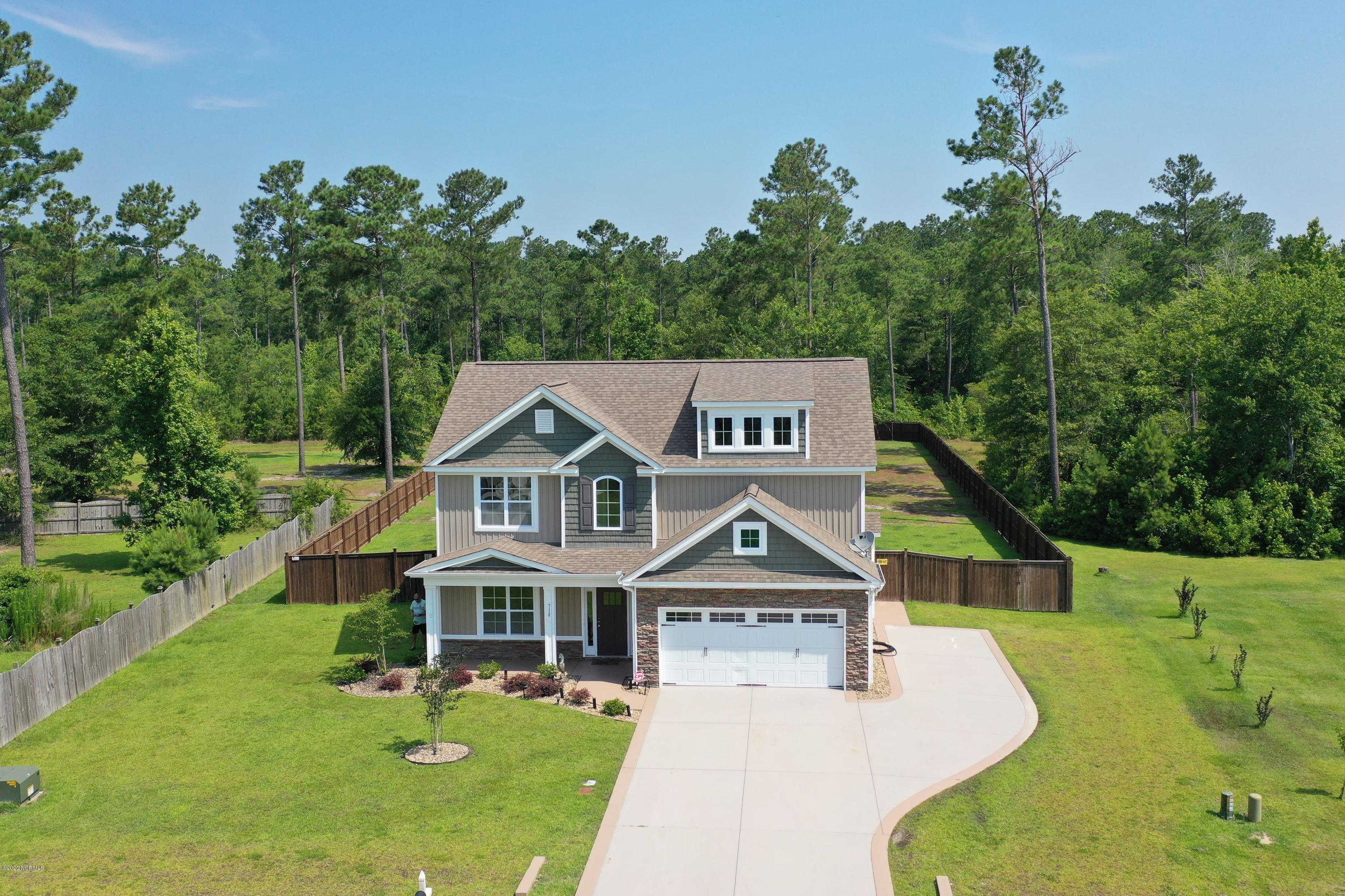 718 Southernwood Place, Hubert, North Carolina 28539, 4 Bedrooms Bedrooms, ,2 BathroomsBathrooms,Residential,For Sale,Southernwood,100223427