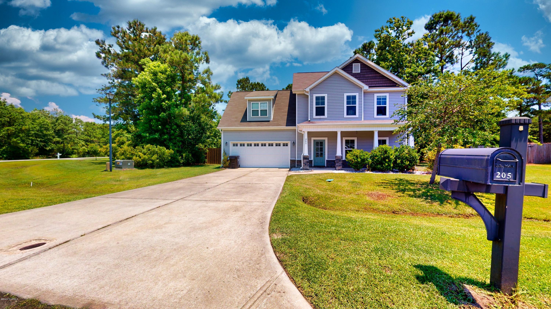 205 Wintergreen Lane, Hubert, North Carolina 28539, 4 Bedrooms Bedrooms, ,2 BathroomsBathrooms,Residential,For Sale,Wintergreen,100223928