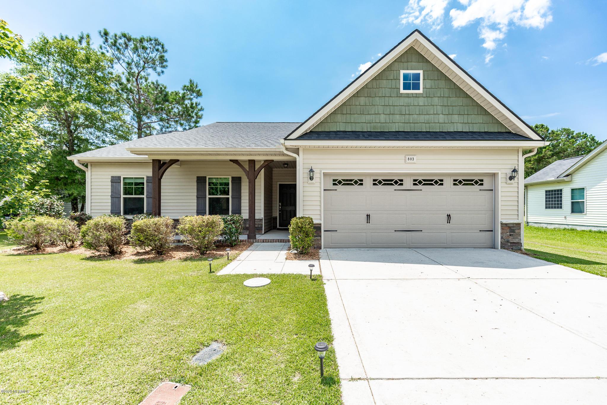 803 Lavender Court, Hubert, North Carolina 28539, 3 Bedrooms Bedrooms, ,2 BathroomsBathrooms,Residential,For Sale,Lavender,100225217