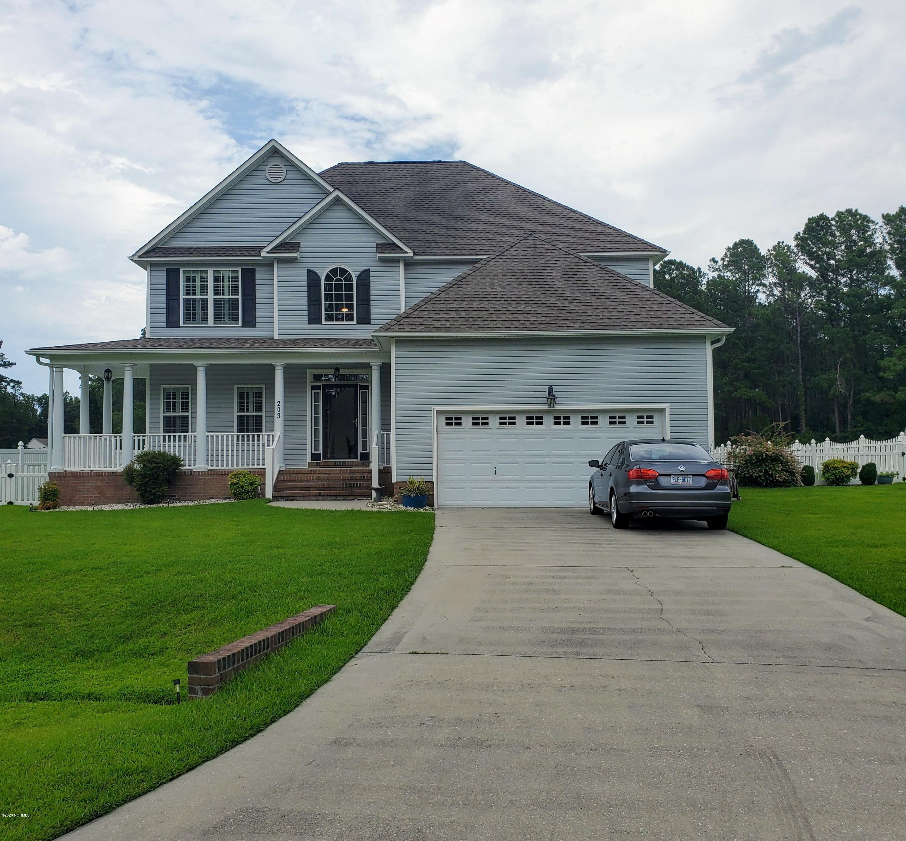 203 Brittany Lane, Stella, North Carolina 28582, 4 Bedrooms Bedrooms, ,2 BathroomsBathrooms,Residential,For Sale,Brittany,100225389