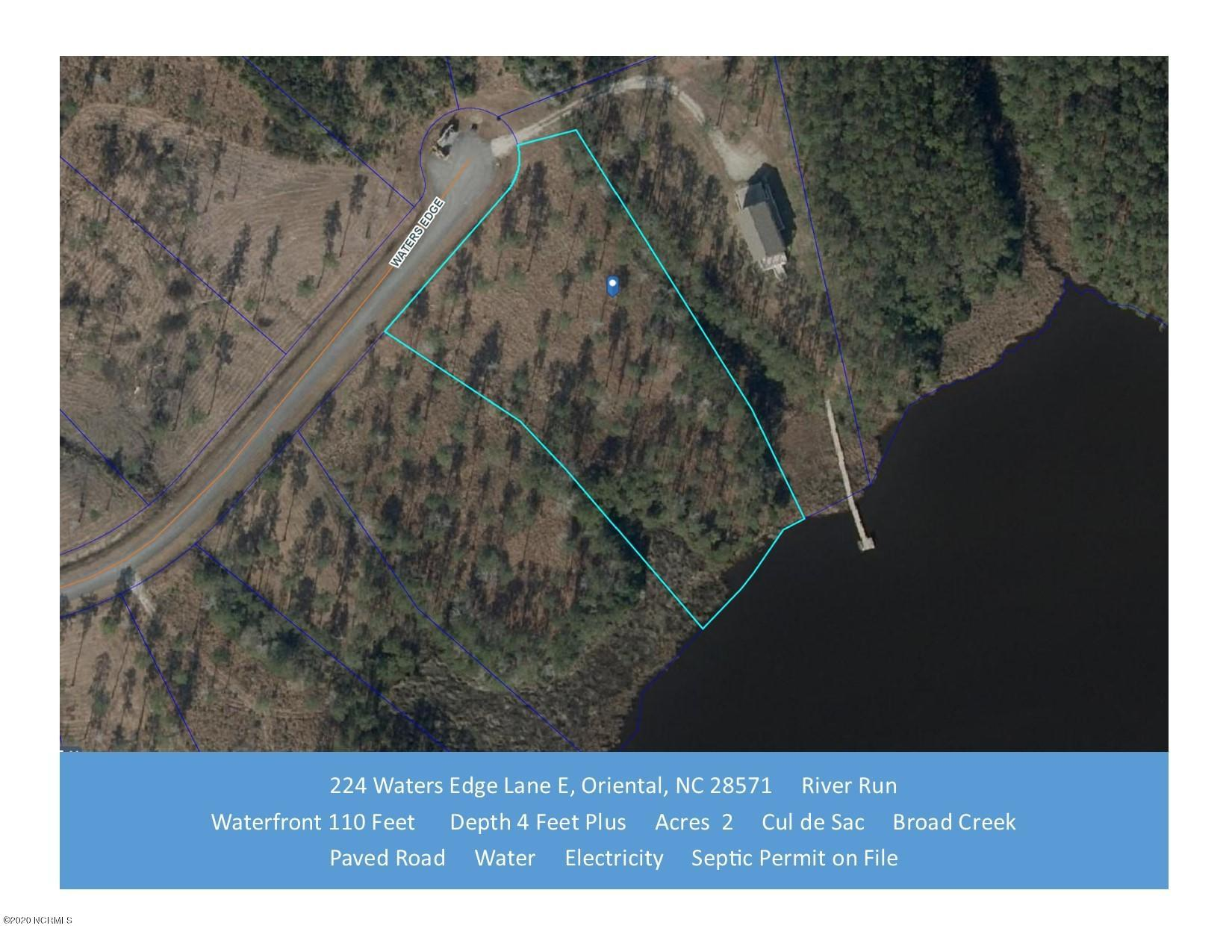 Property for sale at 224 Waters Edge Lane, Oriental,  North Carolina 28571