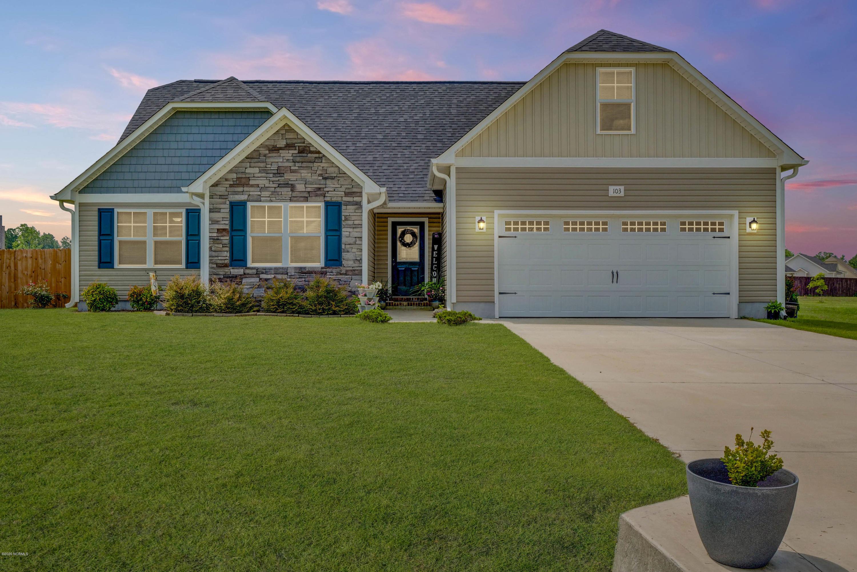 103 Rose Trellis Way, Hubert, North Carolina 28539, 4 Bedrooms Bedrooms, ,2 BathroomsBathrooms,Residential,For Sale,Rose Trellis,100225801