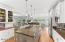 Kitchen/Bar Room & Lake View