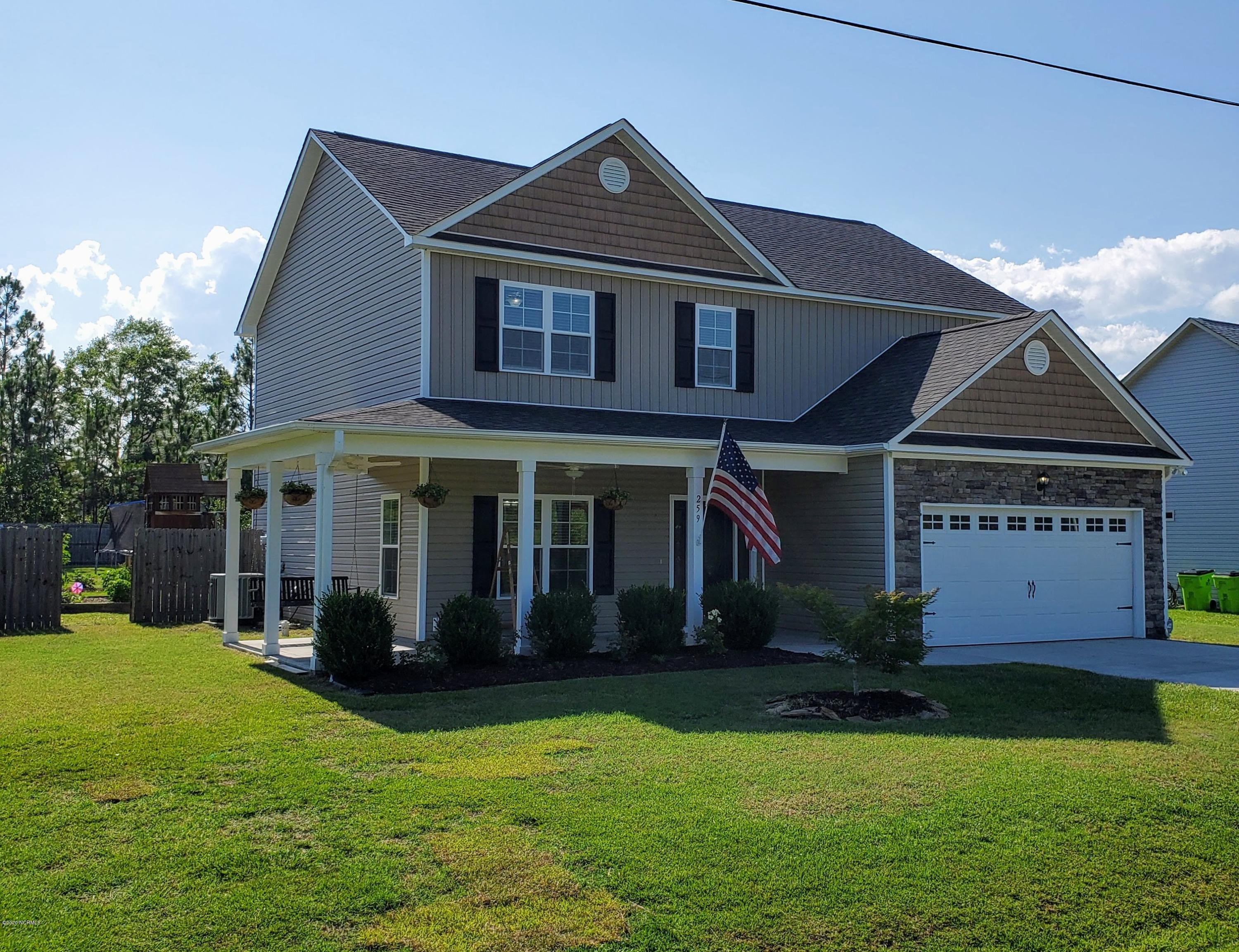 259 Ivybridge Drive, Hubert, North Carolina 28539, 3 Bedrooms Bedrooms, ,2 BathroomsBathrooms,Residential,For Sale,Ivybridge,100226851
