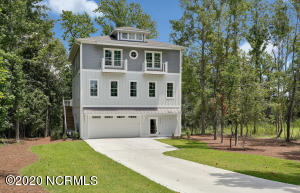 Gorgeous new construction home with ICWW views.