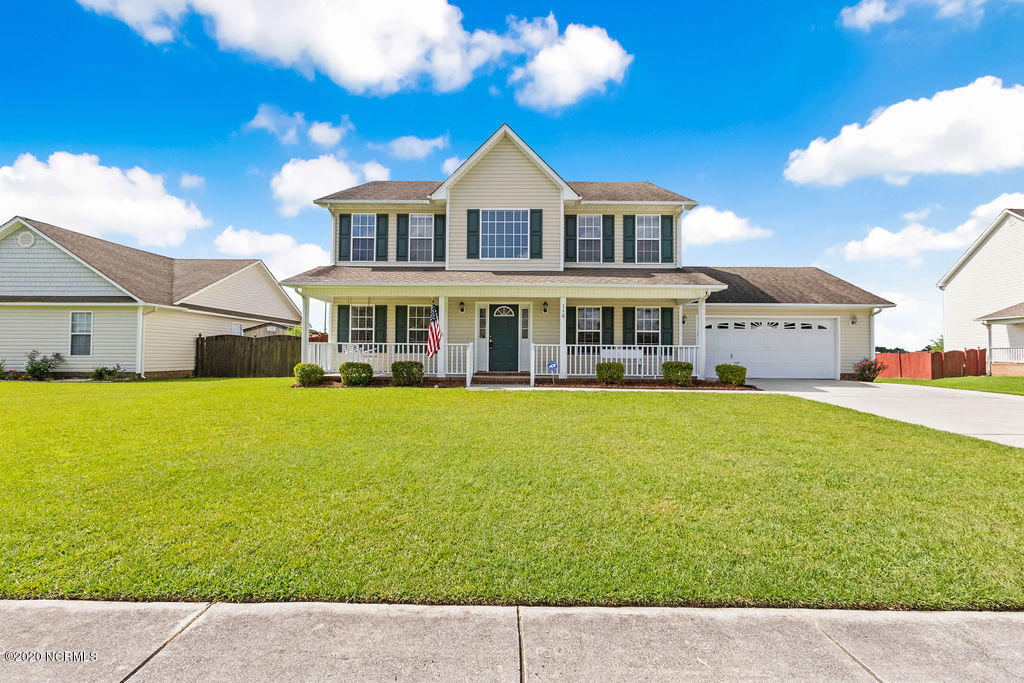 110 Chastain Court, Jacksonville, North Carolina 28546, 4 Bedrooms Bedrooms, ,2 BathroomsBathrooms,Residential,For Sale,Chastain,100229751