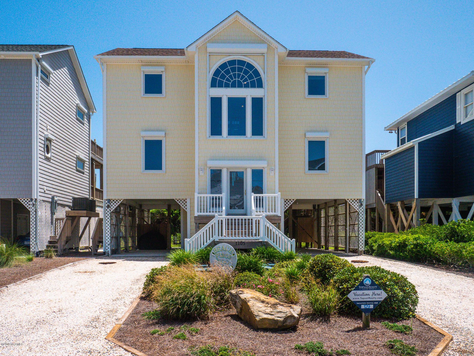 1103 Ocean Boulevard, Topsail Beach, North Carolina 28445, 4 Bedrooms Bedrooms, ,3 BathroomsBathrooms,Residential,For Sale,Ocean,100232149