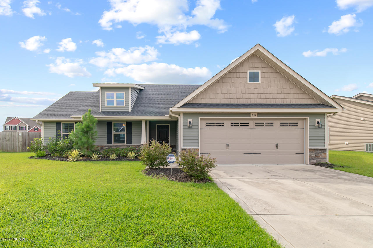 811 Dynasty Drive, Jacksonville, North Carolina 28546, 3 Bedrooms Bedrooms, ,2 BathroomsBathrooms,Residential,For Sale,Dynasty,100231994