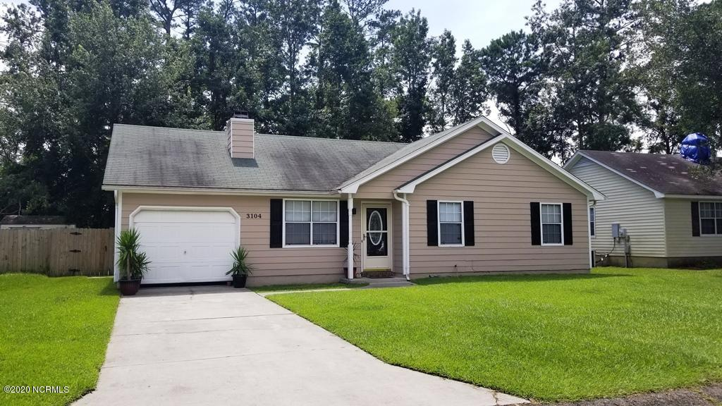 3104 Darby Street, Midway Park, North Carolina 28544, 3 Bedrooms Bedrooms, ,2 BathroomsBathrooms,Residential,For Sale,Darby,100232359