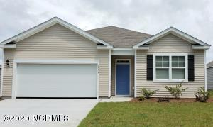 ACTUAL Home Photo! Cali Floor Plan. 4 bedrooms, 2 baths, covered rear porch. Blinds included