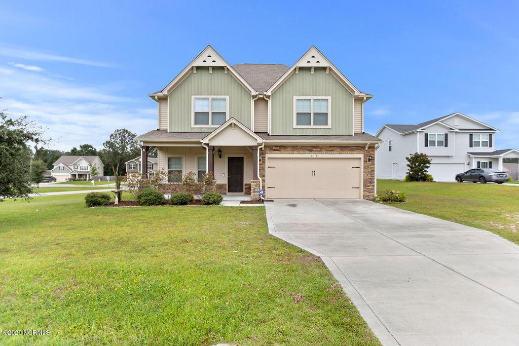 116 Moss Creek Drive, Jacksonville, North Carolina 28540, 4 Bedrooms Bedrooms, ,2 BathroomsBathrooms,Residential,For Sale,Moss Creek,100235982