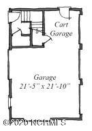 Garage with Golf Cart Bay