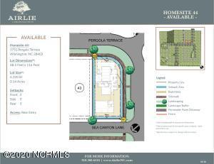 Proposed Plan - Lot 44