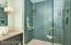 MBR FRAMELESS SHOWER DOORS CERAMIC TILE SHOWER