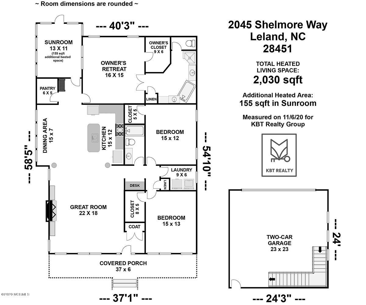 2045 Shelmore Way Leland, NC 28451