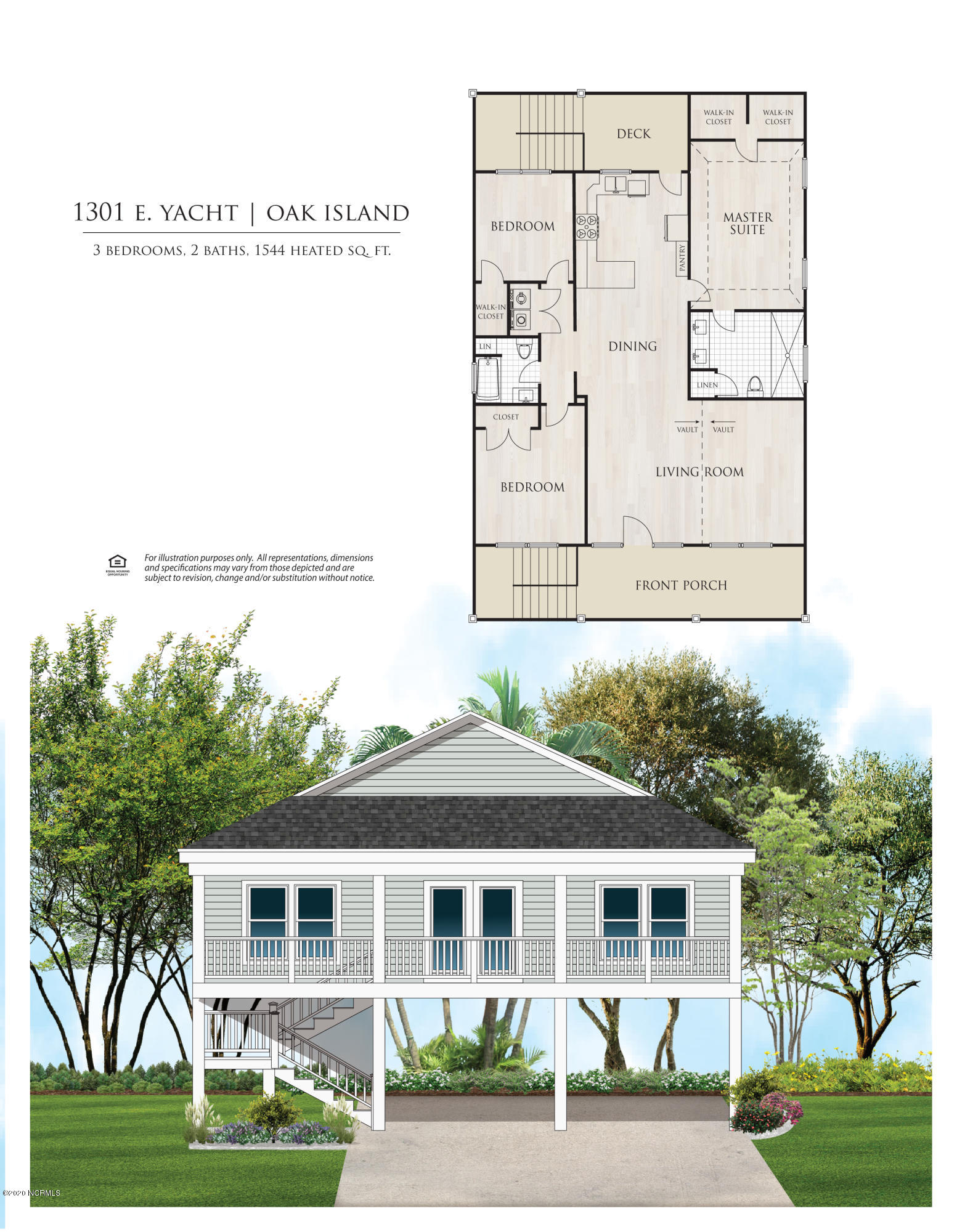 1301 E Yacht Drive Oak Island, NC 28465