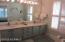 MASTER BATH WITH DOUBLE SINKS CERAMIC TILE SHOWER