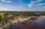 Community Boat ramp, dock and sandy beach