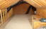 Large walk in attic