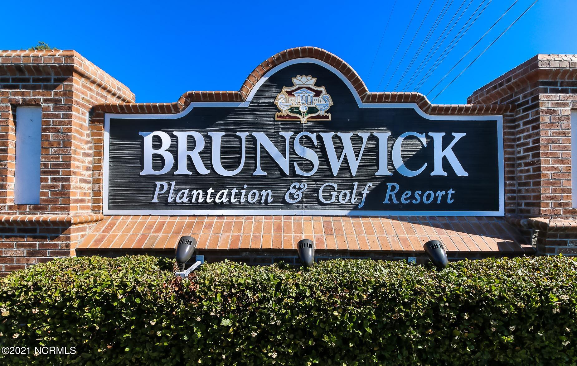 Brunswick Plantation & Golf Resort - MLS Number: 100256933