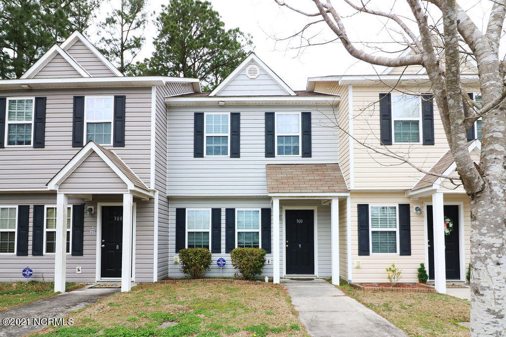 Looking to downsize or a great investment opportunity? This townhome is extremely clean and has been well maintained! It's located close to Camp Lejeune's back gate and a mile from public access boat ramp and Intracoastal waterway. Upon entry, you'll notice a large family room that opens to the kitchen. The kitchen has plenty of counter and cabinet space and includes all major appliances, a pantry, and a washer and dryer closet. A half bathroom is also located on the first floor. The second floor contains 2 bedrooms and 2 full bathrooms. Every room is equipped with blinds, and ceiling fans. You can also enjoy a little privacy in the backyard or on the open patio deck and for extra storage, there is a storage room attached to the unit. Call now for your in-person or virtual home tour.