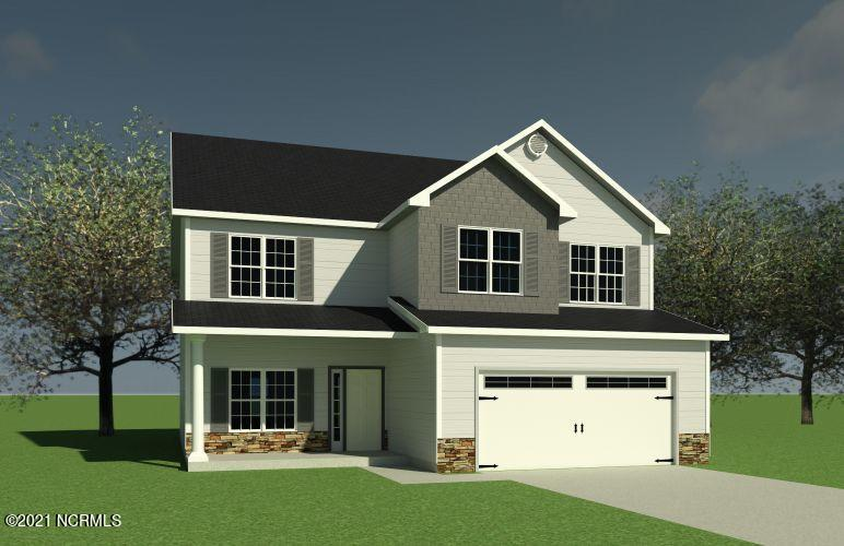 *Builder is offering $1000 in Use As You Choose!  Welcome to the Grayson by A. Sydes Construction, Inc!. This stunning home boasts covered front and back porches. Walk in and see the wonderful flex space, this would make a great dining room, office, sitting room...the possibilities are endless! The cozy living room features a corner fireplace. The kitchen is spacious and wide open and has a breakfast area on the other side of the room. A laundry room, powder room, mud room, and a 2 car garage round out the downstairs. Upstairs you will find the Owner's suite with 2 walk in closets!! a separate tub from shower, and a dual sink vanity. All 3 other bedrooms also have walk in closets!! and they are all well sized and share a second full bath. Do NOT miss your chance to own this fabulous home! *Buyer to verify schools. Room dimensions and heated square footage may vary. Builder reserves the right to alter floor plan and features. Photos and cut sheets are representations only. *This lot contains some 404 Wetlands