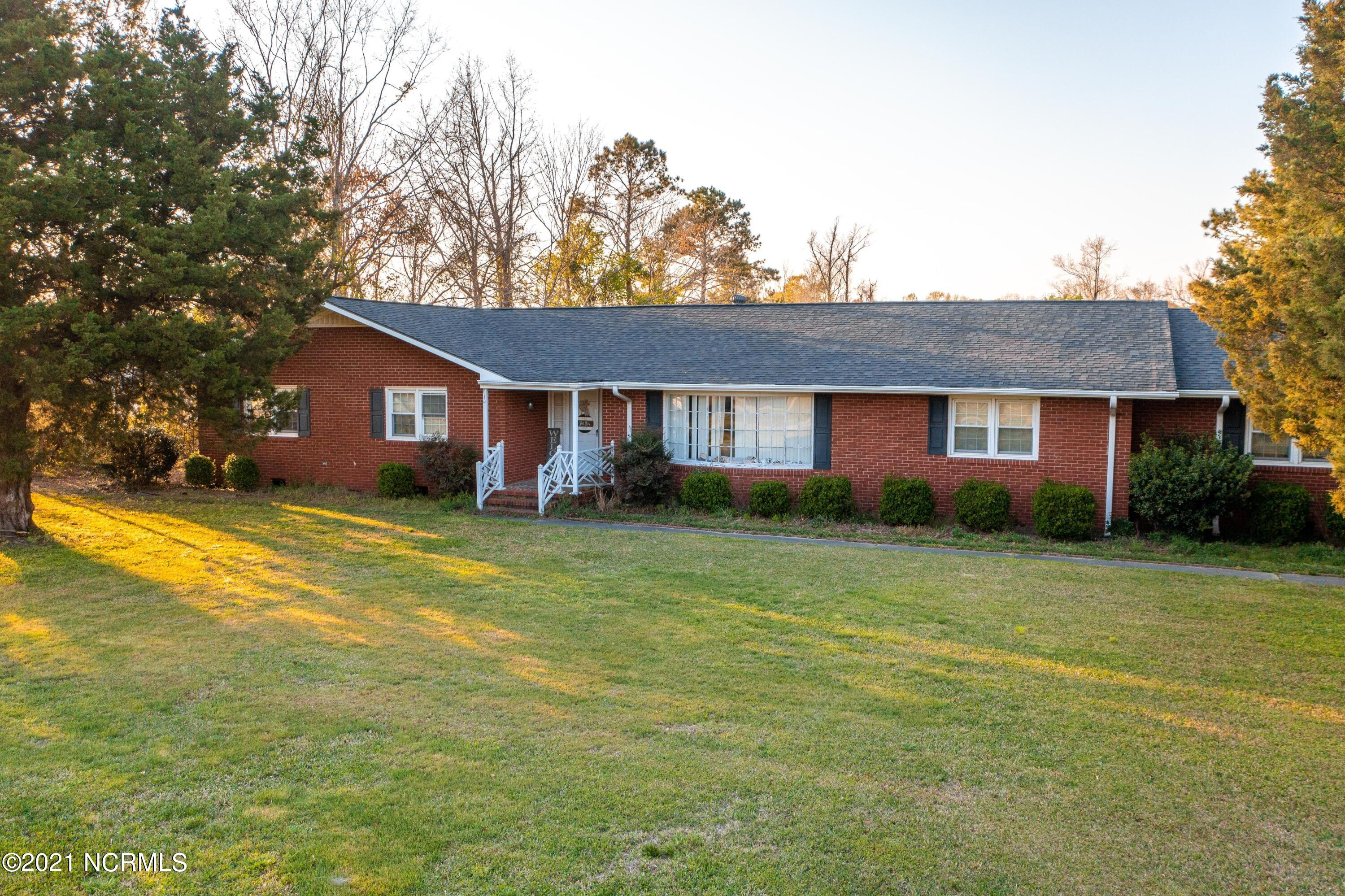 Attention Investors, Flippers, and Future Homeowners! PRICED TO SELL!4201 New Bern Highway is coming soon with more photos to come, currently has tenants inside the home not on a lease but is ready for you to take it over. All brick ranch house on 1 acre lot located just North of Jacksonville city limits! Huge kitchen, Bonus Room, Family Room, Formal Living and Formal Dining rooms making this home ideal for entertaining. New roof last year! Home was renovated around 2009 with new windows, custom blinds, ceramic tile, carpet, custom countertops as well as stainless steel appliances.  It is ready for its new owner to fix it up and remodel!This home has great features outside to include a large deck with a gazebo and three outbuildings to account for your outdoor entertaining!Seller is offering $5,000 use as you choose with a full price offer! Seller is also open to seller financing, contact agent for more information regarding terms.Contact me today for more information!