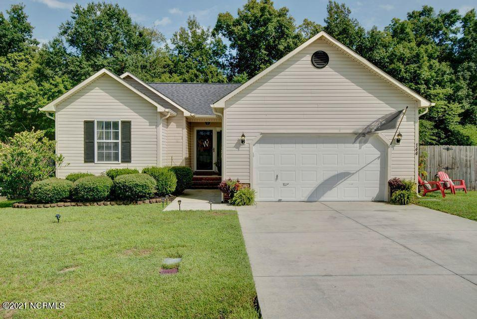 No carpet I repeat no carpet! This three bedroom, two bathroom home boasts so many upgrades from paint to fixtures and flooring in between. The tree backed yard is perfect for entertaining on the oversized deck.