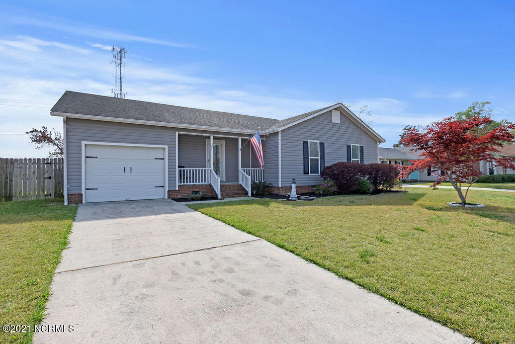Welcome to your new home! If you love the coastal cottage feel with a touch of vintage, this is your home! This house has spacious living and dining areas for family and guests to enjoy. The beautiful kitchen has lots of cabinet and countertop space. Three bedrooms and two full bathrooms complete the home. Outside of the home features a relaxing screened in porch and attached deck that is perfect for upcoming summer nights. Schedule your showing today!