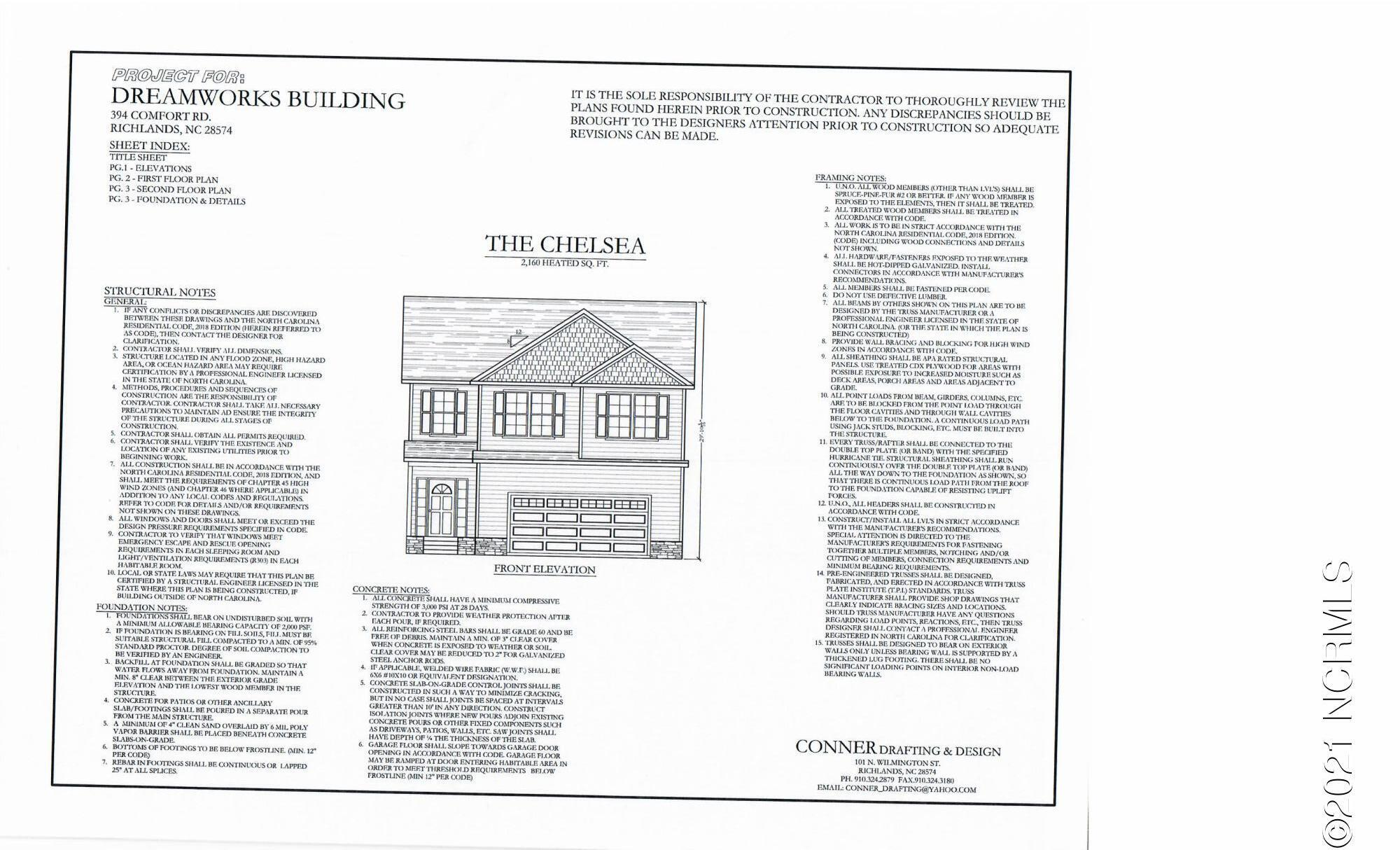 House Plans - Front