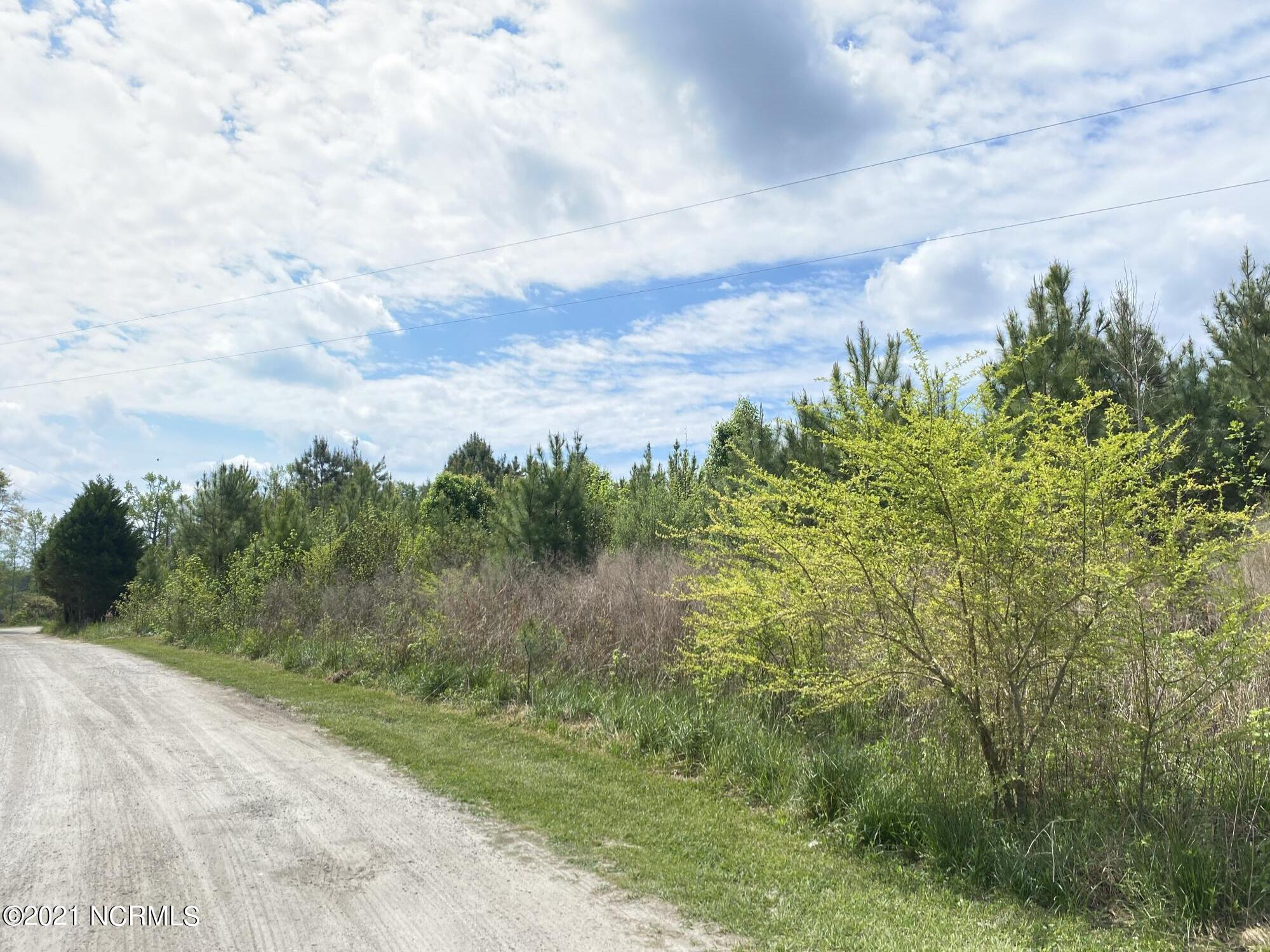 SEARCHING FOR A LARGE LOT TO BUILD?  Seven acres, in Onslow County, off of White Oak River Rd, with a Maysville address.  No restrictions; so chickens, horses and goats are a go! Build your dream home here. Some cedar trees have been planted along the road to provide even more privacy! Yes, a modular will be allowed.