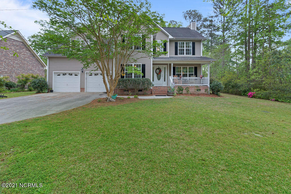 Welcome to 619 Par Drive! Nestled in the desired subdivision of Rock Creek. This 2 story home features 3 bedrooms, 2.5 baths, a 2 car garage and a HUGE bonus room! As you enter you'll notice your front room, living area and kitchen are located on the first floor. While your bedrooms are all located upstairs on the second floor.  Out back you are able to sit on your spacious deck and enjoy  .58 acres of privacy!