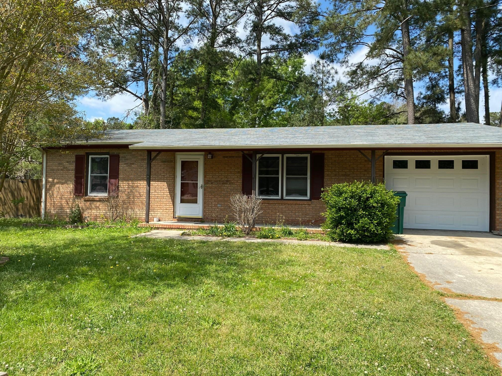 Move in ready, 3 bedroom 1 bath brick home that features new carpet in all bedrooms and LVP flooring throughout the main living area and fresh paint throughout the entire home.  The backyard features a wood deck and fenced in back yard for all your summer cookouts.