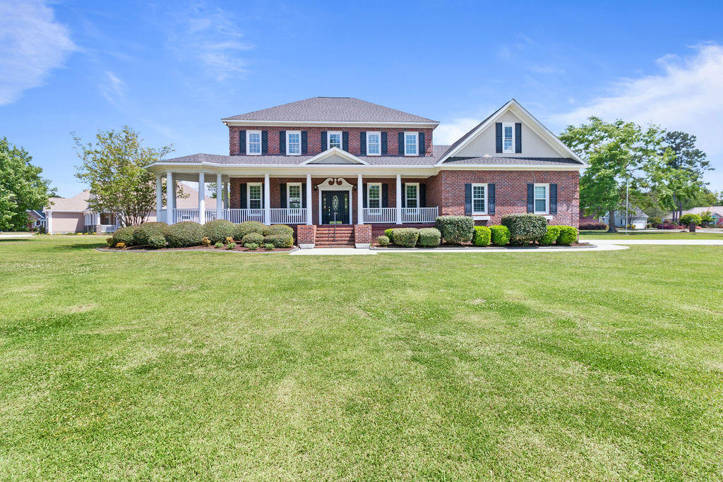 Highly desired community of Evansbrook, close to military bases, other employers, schools and shopping.  Must see this hard to find all brick two story with large living room, nice formal dining room, open breakfast nook to the brand new kitchen and big bedrooms each having their own full bath.  Freshly remodeled due Hurricane Florence in September 2018.  This home has not been occupied since the hurricane.  All new interior just finishing the final touches.  Must see!!  All measurements are estimates, Buyer to verify.