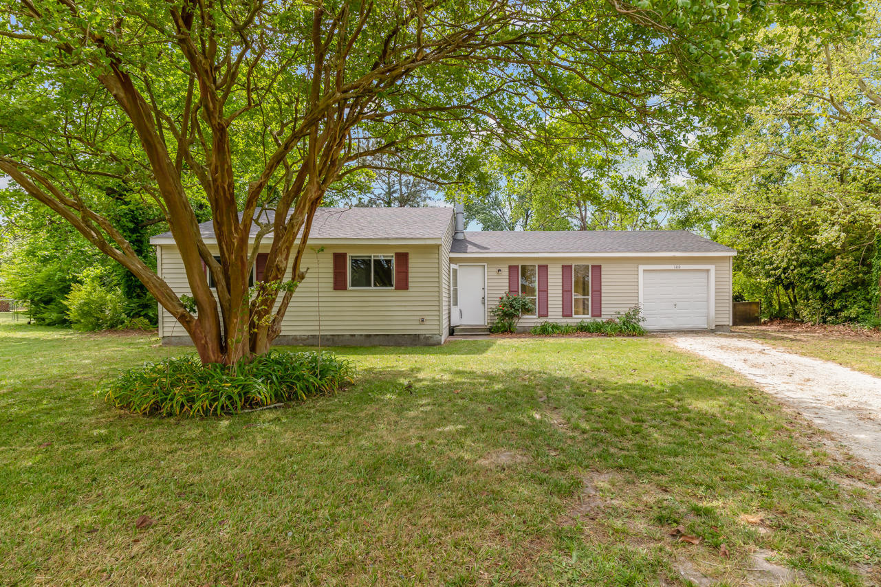 Welcome Home, this 4 bed, 2 bath home has within the last 5 years had new a/c-Aug. 2017, new roof-2018, floors throughout- Dec. 2019, new dishwasher-Sept.2020, new stove Nov.2017, new refrigerator-Aug. 2017, new cabinets-Dec. 2019, countertops-Dec. 2019, bathroom vanities-Dec. 2019 and bathroom light fixtures-Dec. 2019. New storm door-May 2021. Wood fireplace, laminate floors, large patio, huge fenced yard, garage. Minutes to everything Jacksonville and Richlands have to offer: dining, shopping, recreation, entertainment, schools, beaches and military bases.