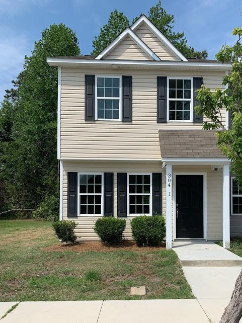 Are you looking for a charming 2 bedroom, 2.5 bathroom townhome only minutes from the Camp Lejeune back gate? Look no further! This home is located in the quaint town of Hubert and is the perfect townhome for retirement, investment or a starter home. The open concept home has been recently updated and provided adequate living, kitchen and bedroom spaces.  All major appliances included and a covered back patio is a plus! Also included is an exterior storage room attached to the unit. If you are looking for a quiet community close to schools, bases, shopping and more, then look no further. Call today to set up your personal showing!