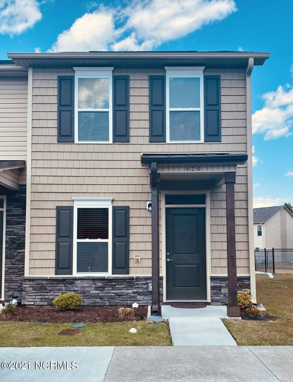 Nearly New Townhome with LVP flooring in the Living, dining, Kitchen and 1/2 bath. The floor plan includes 2 bedrooms upstairs with full bathroom and hall laundry closet. Enjoy the privacy of your vinyl fenced backyard for grilling and relaxing.  Dog park located near by.