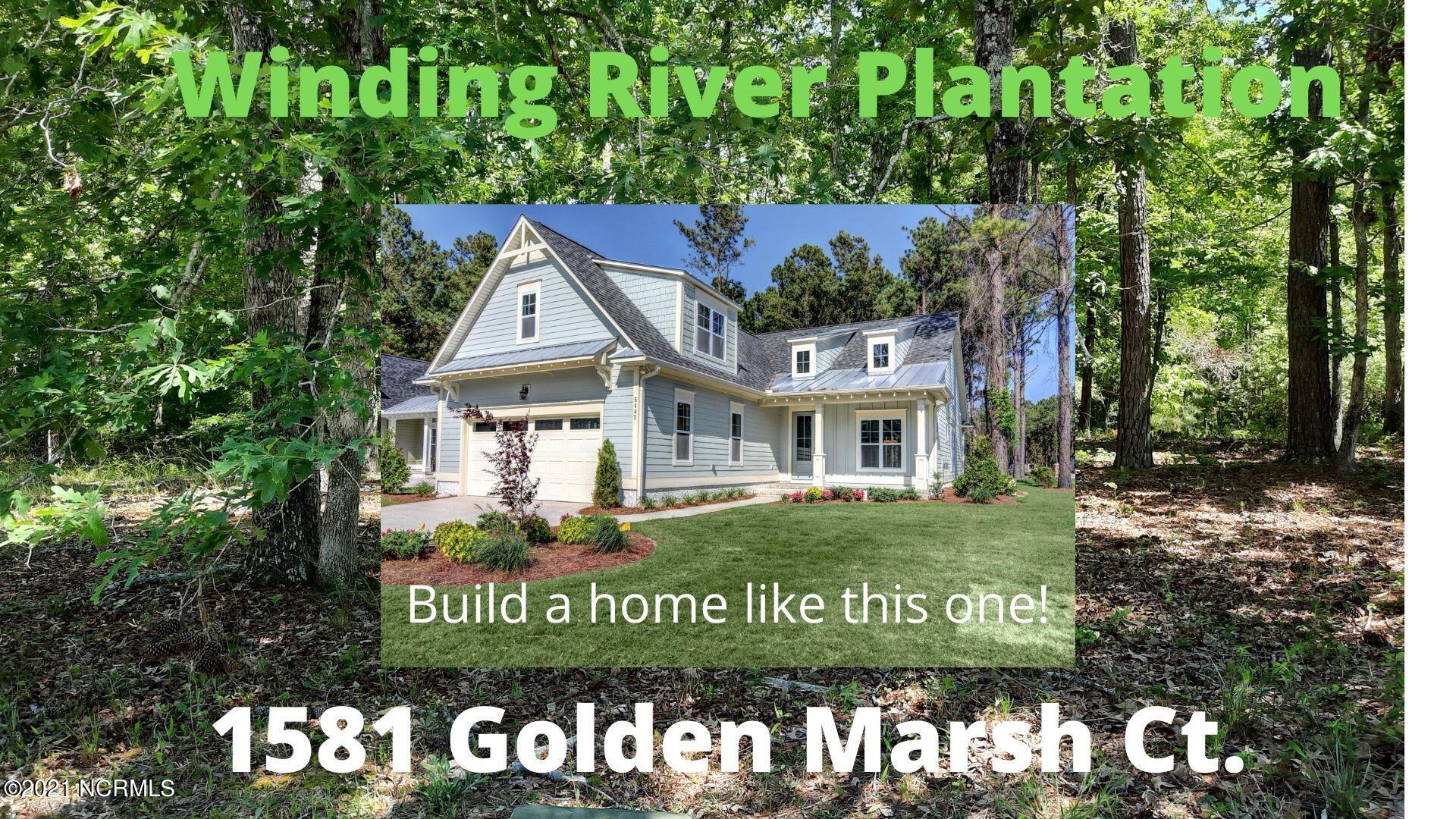 1581 SE Golden Marsh Court Bolivia, NC 28422