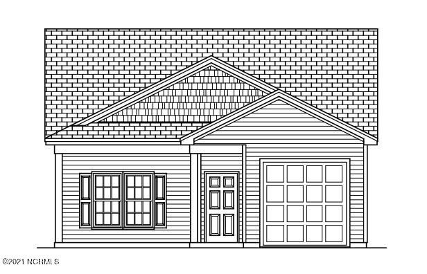 Great location in Holly Ridge, close to Surf City and Topsail Beach. The Roman Plan features granite countertops, LVP flooring, 9 ft ceilings, Vaulted ceiling in Livingroom, master bedroom with trey ceiling and walk-in closet. One car garage