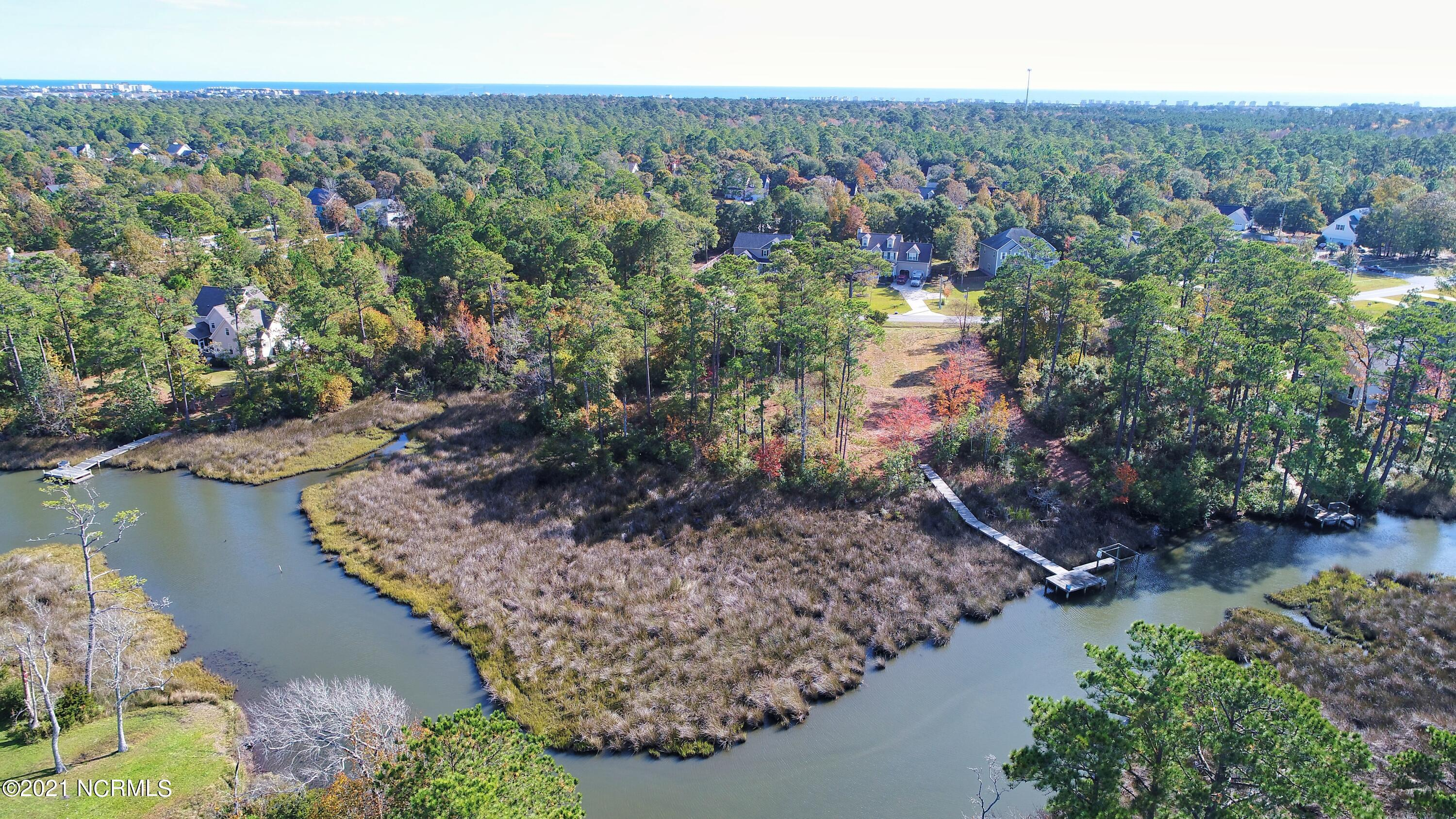 Nice Creek Front lot in Chadwick Shores. Chadwick Shores is a waterfront gated community in the Sneads Ferry area. Amenities include a Day Dock and Playground.