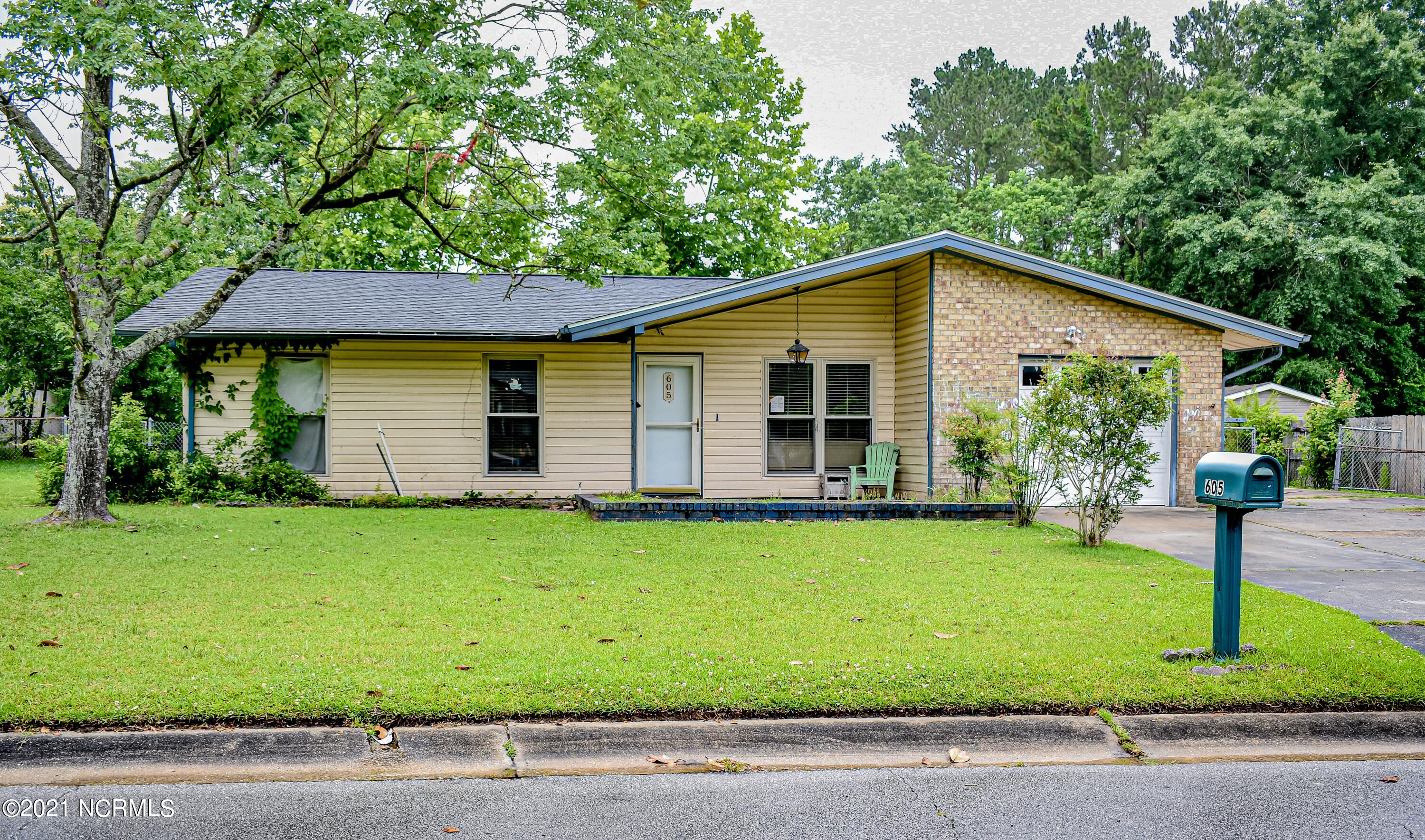 Previous buyer's financing fell through so we are back on the market. Great opportunity for first time homebuyers or investors. This ranch style home offers three bedrooms, two bathrooms, two living areas, kitchen and garage. Home has a large, fenced in back yard and the shed conveys with the property.Home currently has a tenant in place.