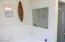 Master Bath has a Separate Shower - Ceramic Tile with Glass Door