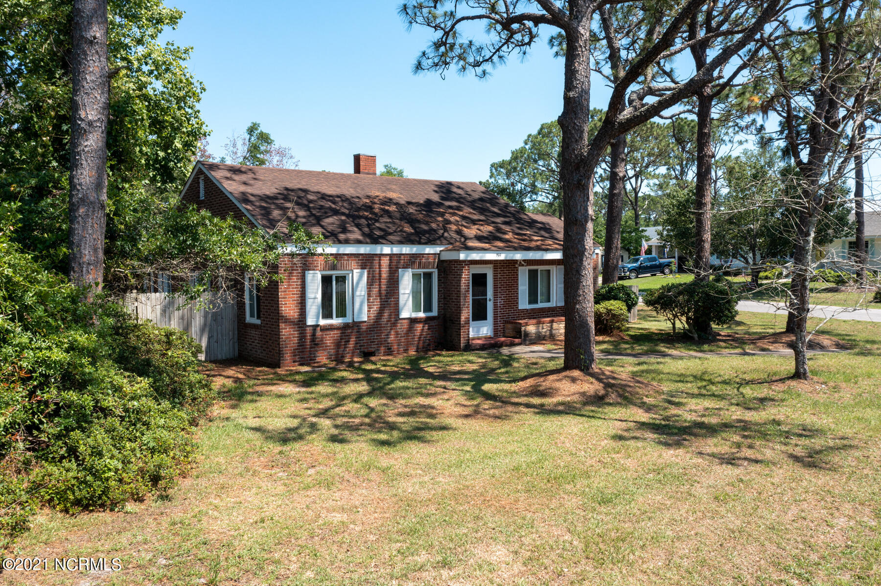 Quaint brick bungalow in the heart of downtown Southport, and only one block from the water. Priced  to be sold ''as-is'', so that you can make it your own. Extra wide lot with fenced in yard, a lovely screened porch and a one car garage. Don't let this location get away from you! Call today! Agents  see Agent Only Remarks.