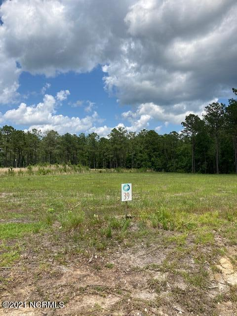 Beautiful lot in a the water access community of Topsail Bluff.   .59 cleared acres with good soil.  Expired (3 bed) septic in hand but a soil scientist has tested the soil and you could easily make this a (4) bedroom septic.Large lot with good soil in a boating community is a rare find.AT&T is in the community