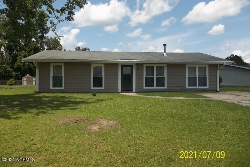 $159,900 for  this Move in Ready 3 Bedrooms plus Bonus Room and 2 Full Baths  home on a large corner lot . The Living Room/Dining Room area opens to the kitchen and has a  wood burning fireplace.  Most of the rooms have ceiling fans. The spacious back yard has a storage shed and an outdoor grill, a nice area for relaxing, entertaining or gardening. This home is conveniently located to the military bases, airport, shopping and restaurants.  Call and make your appointment Today to see this home.