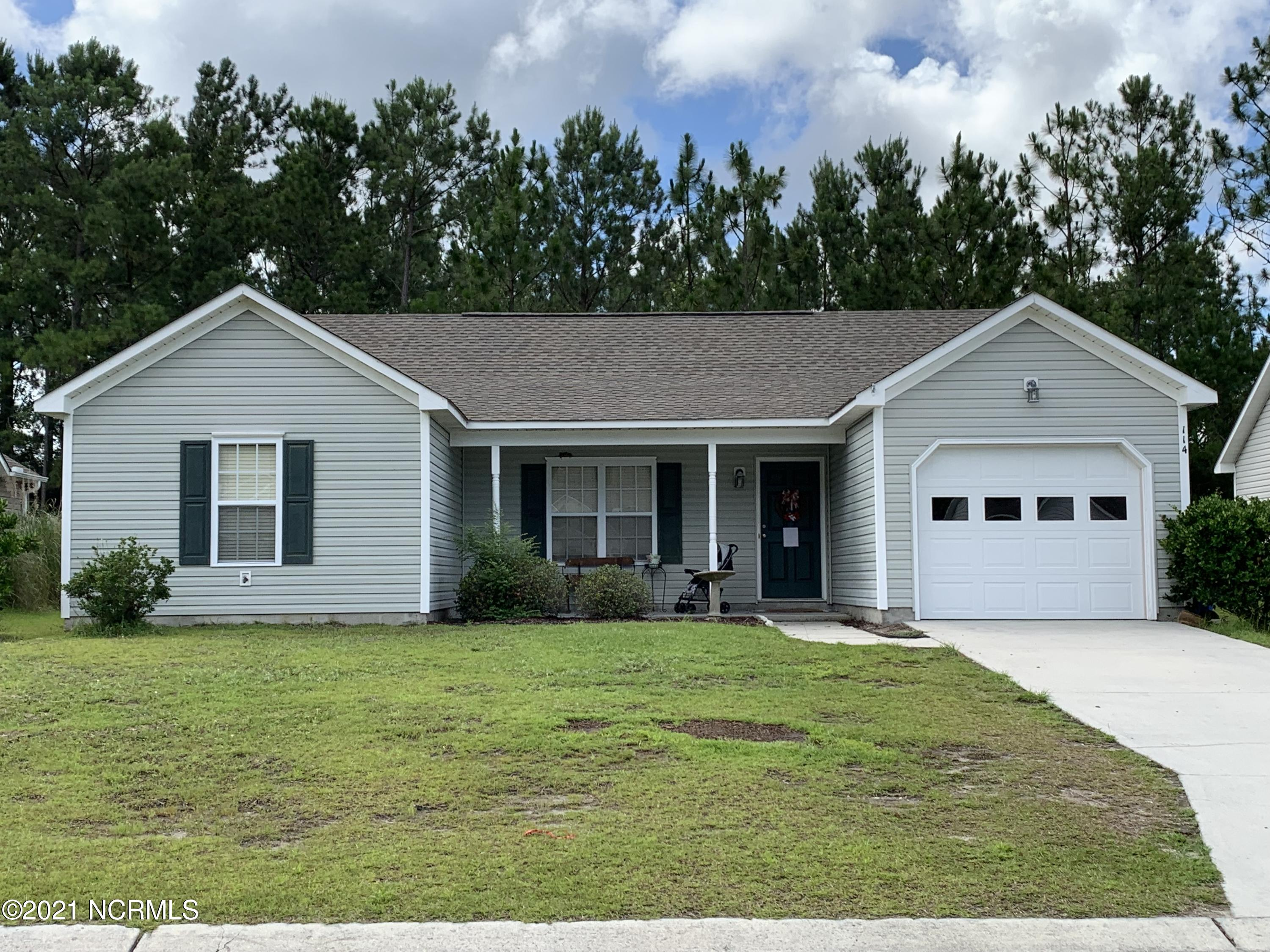 4-bedroom 2 bath home conveniently located to local beaches and Camp Lejeune. Home is currently occupied by a long-term tenant and has a strong rental history. Details will be provided upon request.