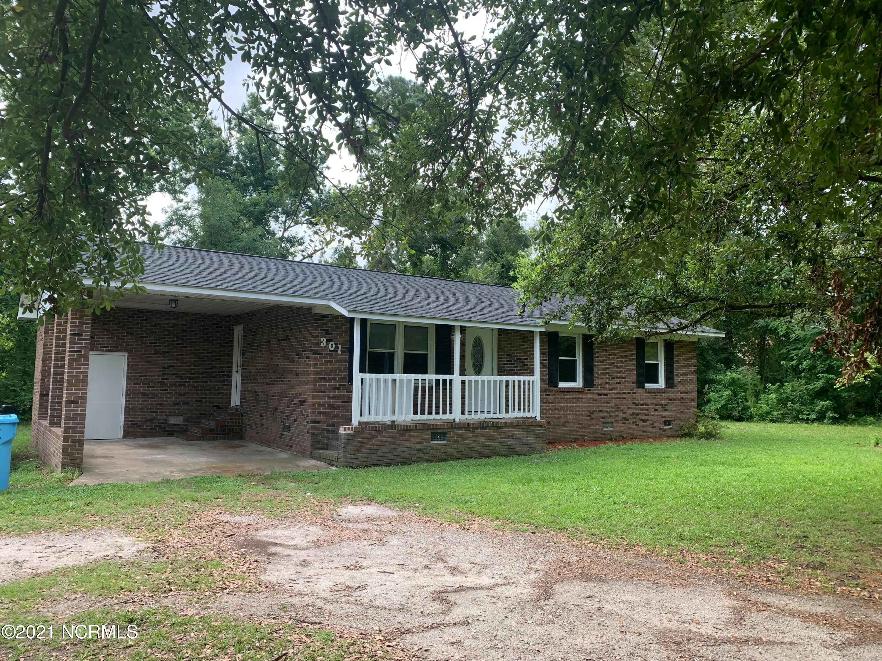 Nestled on .66 acres, this brick home allows plenty of room for the kids and pets to play! Enjoy quiet country living just minutes from Richlands. Beautiful shade trees surround the property! Must see to appreciate!