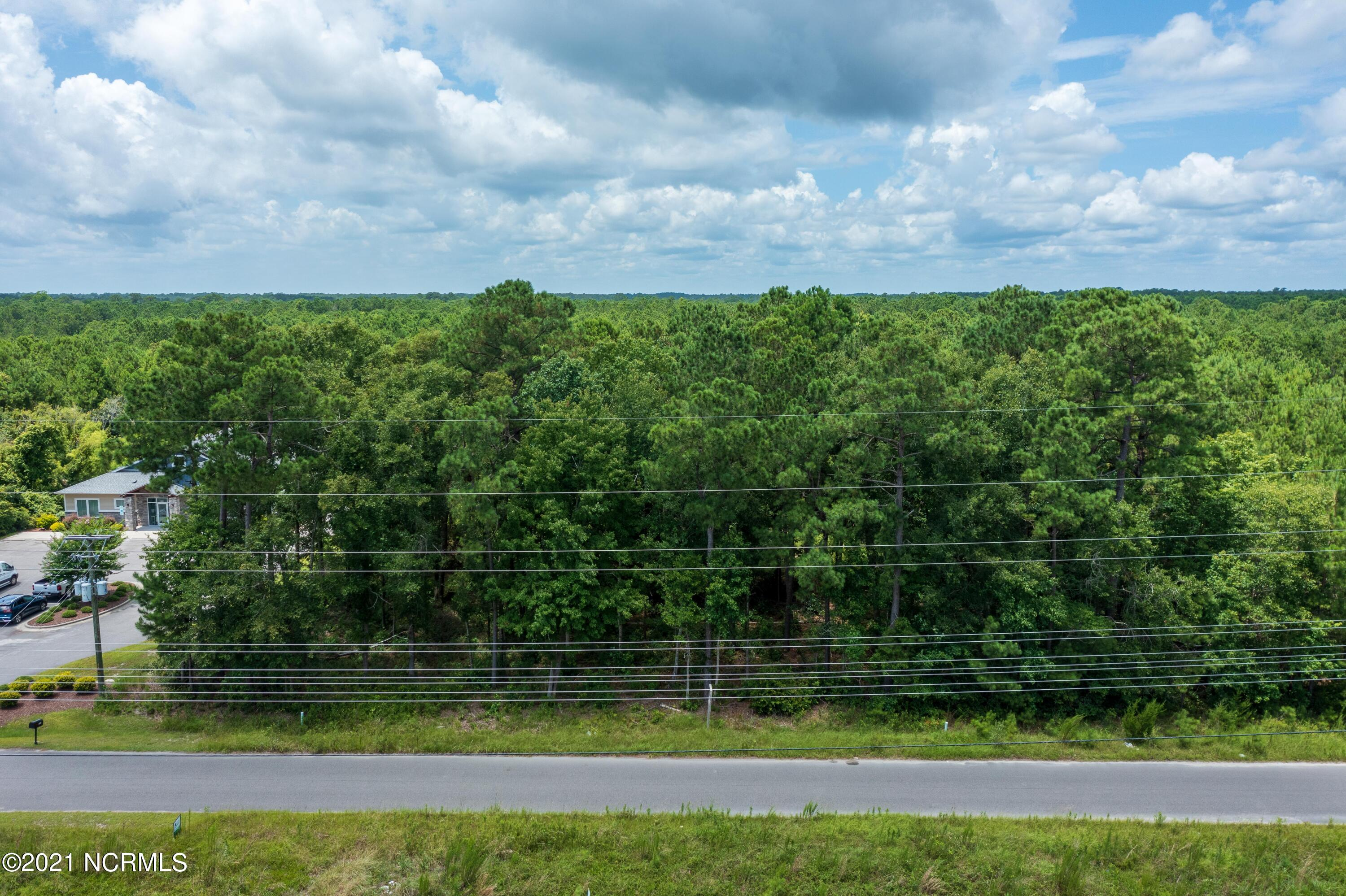 This is a prime location on Hwy 210 between Four Corners and Topsail Island.  Lot is 100 x 440 +/-.  The adjacent lot is for sale also .giving you 200 ft of road frontage!  And no city taxes.