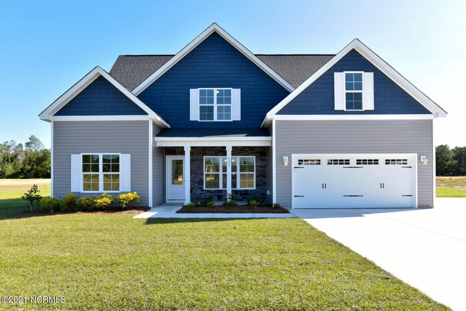 Introducing the ''Chicago'' floor plan at Beech Crest! This new home offers 4 bedrooms with a bonus room, 3 bathrooms, and a 2-car garage; at approximately 2,691 heated square feet! Located in a quiet country setting yet only minutes to local bases, schools and shopping! Featuring architectural shingles, low maintenance vinyl siding, energy efficient heat pump, a sodded front yard, and professional landscaping. Interior features include designer inspired paint, flooring, lighting, cabinets and countertops. In addition, you will enjoy 9' smooth ceilings on the first floor, ceiling fans in the living room and master bedroom, plus stainless-steel appliances! Contact me today for more information.
